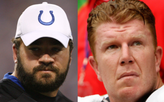 Jeff Saturday & Matt Birk