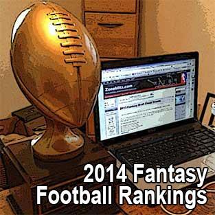 One Response to Zoneblitz.com 2014 Fantasy Football Rankings