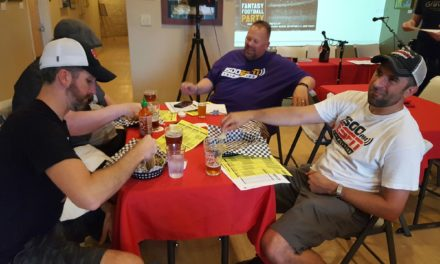 Fantasy Football Party: Mock Draft #1