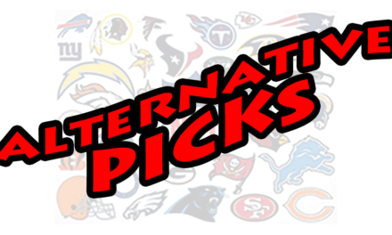 Alternative Picks – Week 2, 2017